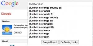 plumber keyword